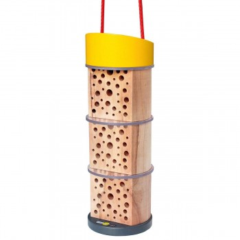 Insektenhotel für Kinder ab 6 Jahre - Höhe 22 cm