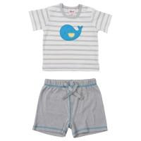 Vorschau: Leichtes Baby Shirt mit Shorts für Jungen