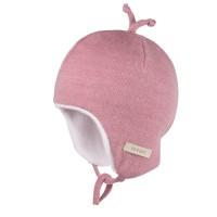 Kuschelig weiche Wintermütze rosa