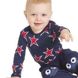 Rote Sterne Bio Baby Body