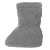 Super warme Babyschuhe als Socke grau