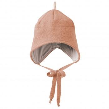 Wintermütze Wolle rosa Ohrenschutz