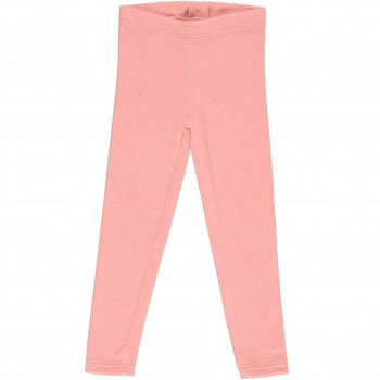 Warme Nicki Leggings uni in leuchtendem rosa