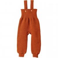 Warme hochwertige Trägerhose orange