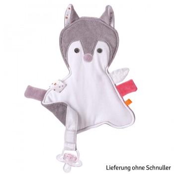 Kikadu Schnullertuch Fuchsmädchen