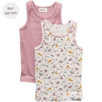 Tiger Unterhemd rosa 2er Pack Exklusiv bei greenstories