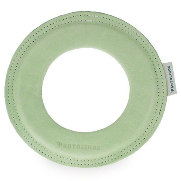 Kleiner super weicher Wurfring LOOP Frisbee grün