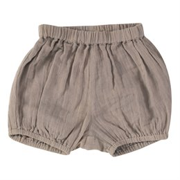 Graue Babyshorts aus Musselin