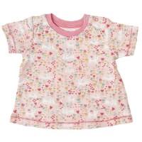 Bio T-Shirt Baby Druckknöpfen rosa
