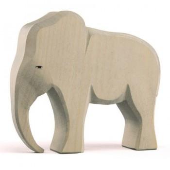 Elefantenbulle extra dickes Holz 14,5cm hoch