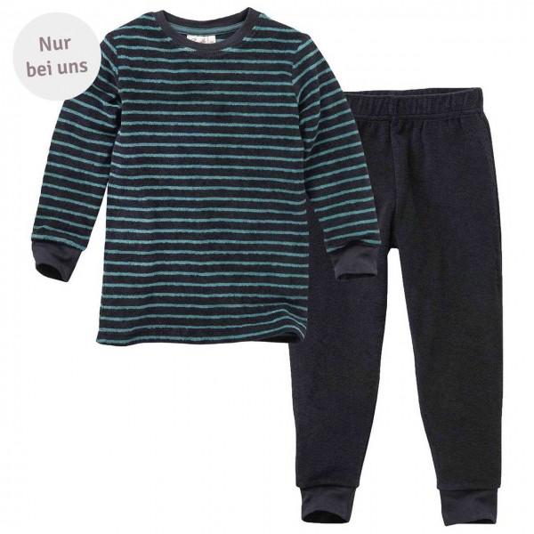 Frottee Schlafanzug Ringel - Exklusiv bei greenstories