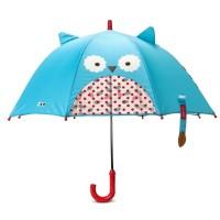 Vorschau: Kinder Regenschirm mit Guckloch - Eule