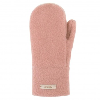 Altrosa Kinder Handschuhe Wolle