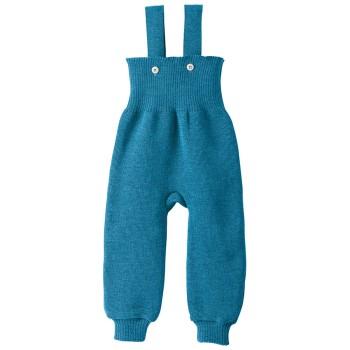 Baby Hose warm hochwertige Wolle blau