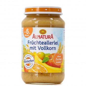 Früchteallerlei mit Vollkorn ab 6 Monaten (190 g)
