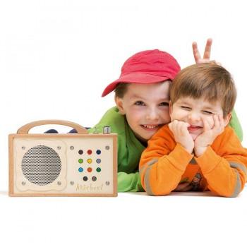 Hörbert Kindermusikspieler incl. 9 Hörspiele als MP3 Player
