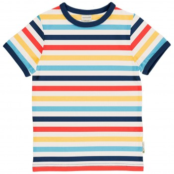 Leichtes Ringel Shirt kurzarm bunt
