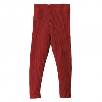 Woll Leggings bordeaux warm und mitwachsend