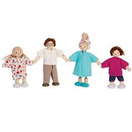 Puppenfamilie für das Puppenhaus