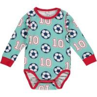 Vorschau: Fußball Bio Babybody langarm