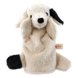 Handpuppe, der gütmütige  Hund Bello