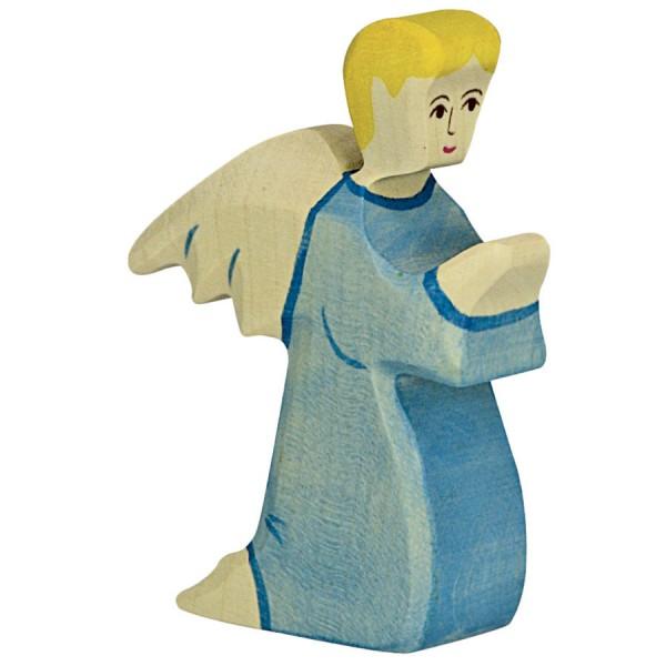Holztiger Engel Holzfigur