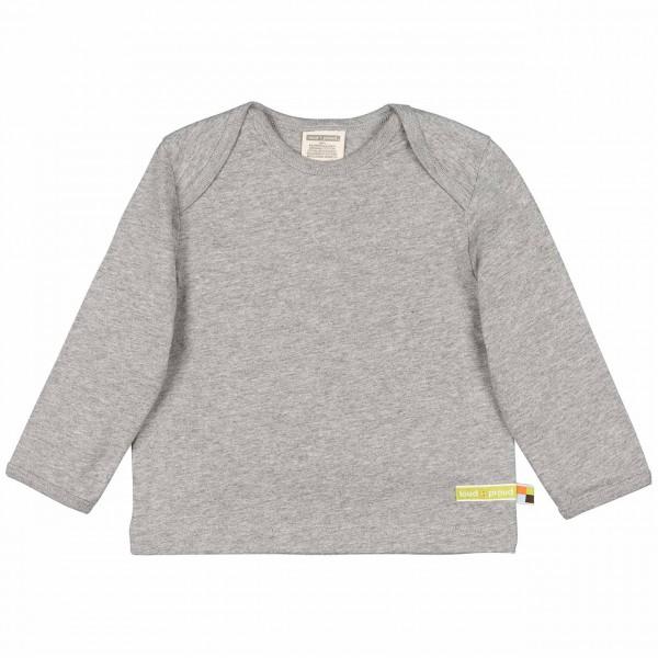 Graues Shirt langarm Jersey