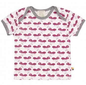 Ameisen-Druck T-Shirt beere