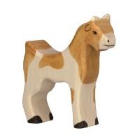 Holzfigur Ziege - auf dem Bauernhof