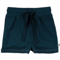 Leichte Shorts uni in dunkelblau