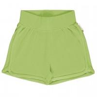 Leichte Jersey Shorts in grün
