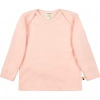Leichtes Ripp Shirt langarm in rosé