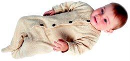 Frotteeoverall mit Fuß für die kühlere Jahreszeit