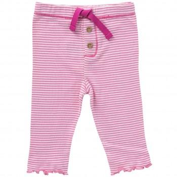 Bequeme Leggings rosa Ringel