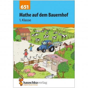 """Mathe lernen 1. Klasse – Übungsheft """"Auf dem Bauernhof"""""""