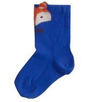 Sehr dehnbare Socken mit breitem Bund Fuchs