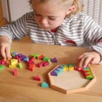 Mandala räumliches Denkspiel Gestaltung 72 Teile