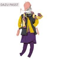 Vorschau: disana Handschuhe Wolle lila