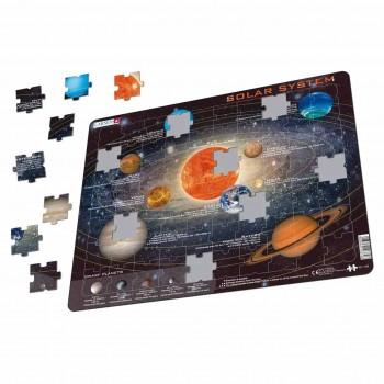 Lernpuzzle Sonnensystem für Kinder ab 6 Jahre
