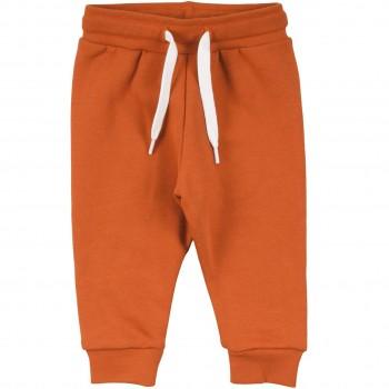 Robuste Sweat Jogginghose rost-orange