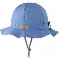 Sommermütze mitwachsend verstellbar nautic-blau