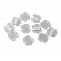 Steckdosenschutz klebbar 10 Stück - trasparent