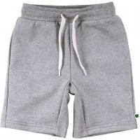 Griffig leichte Sweat Shorts in hellgrau