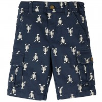 Robuste Twill Sommershorts - Hummer