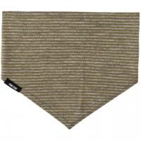 Wolle Seide elastisches weiches Halstuch moos-grün