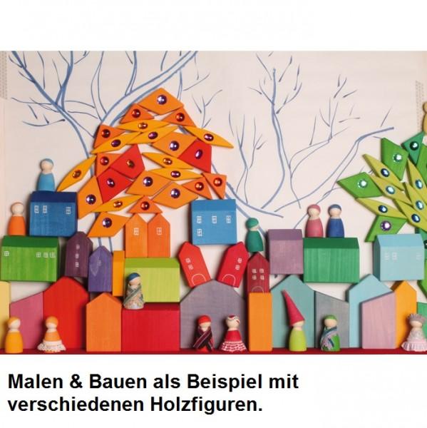 Spielwelt z.B. Eisenbahn Häuser 14 Teile