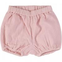 Luftige, lockere Musselin Shorts rosa