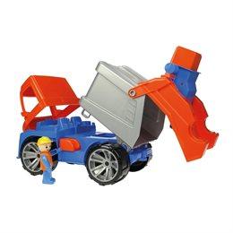 Truxx Müllwagen - Führerhaus zum Öffnen & Bespielen