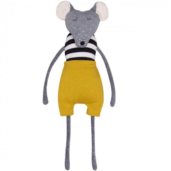 Kuscheltier Schlenkertier Maus 35cm