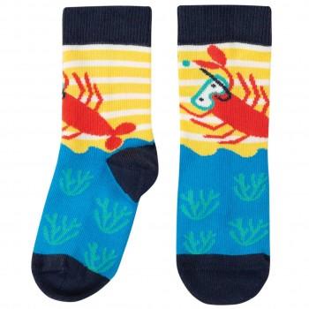 Hummer Kinder Socken blau